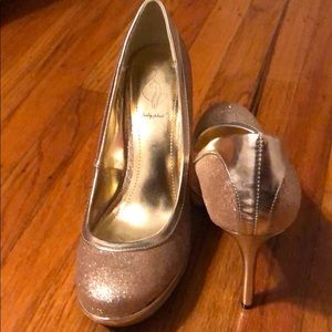 Gold Shimmer Shoes